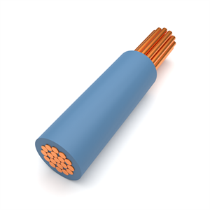 Blue Tri-Rated Panel Wire