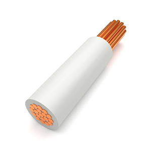 White Tri-Rated Panel Wire